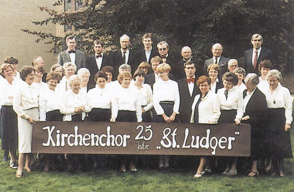 Kirchenchor Ludger 1984 s