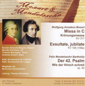 MozartMendelssohn