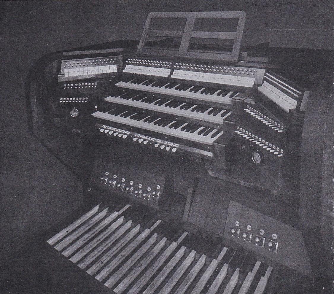 Orgel Felizitas Spieltisch 1941
