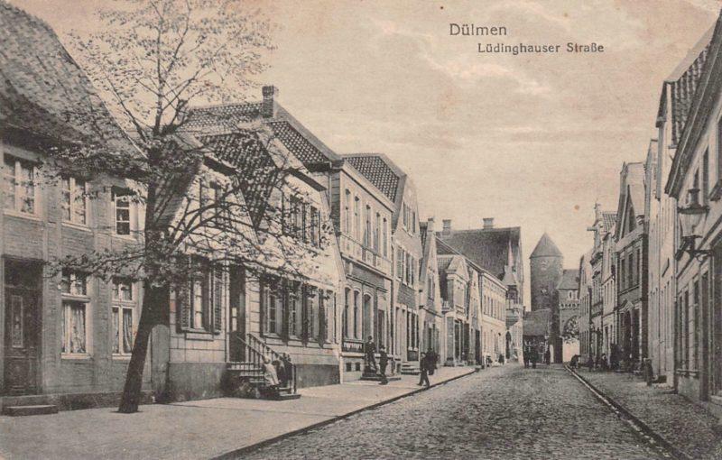 Dülmen LH Str vor 1917