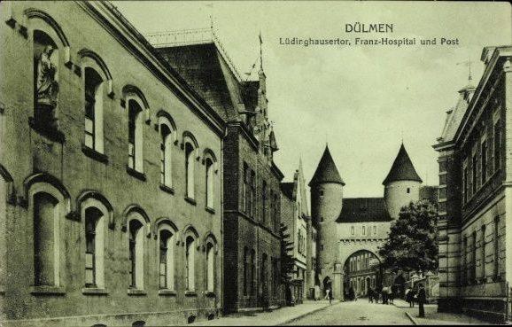 Dülmen LH Str vor 1918