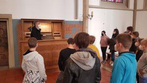 Orgelführung St. Felizitas, Kleinhenz