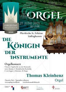 Konzert in St. Felizitas Lüdinghausen - Orgeltag Westfalen